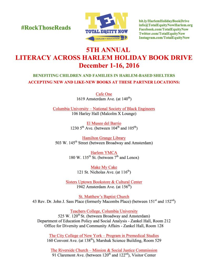 5th-annual-harlem-holiday-book-drive_partner-list_12-01-16